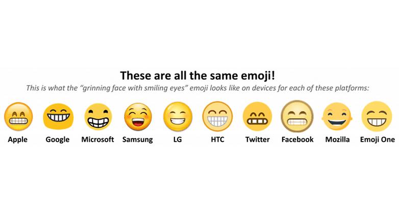 emoji several manufacturers