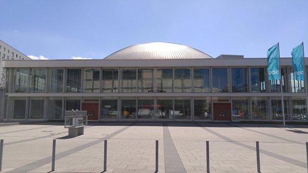 Cámara del LG G4 en el exterior