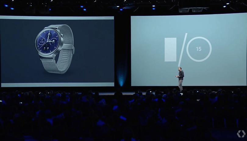 Google I/O 2015: Lähmt die Angst vor der Apple Watch Android Wear?
