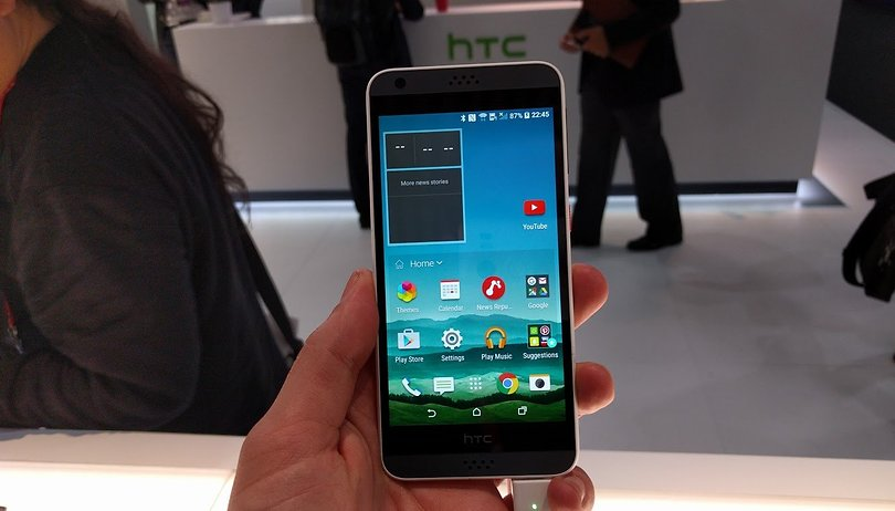 HTC Desire 530 im ersten Test: Lifestyle-Smartphone in Plastik