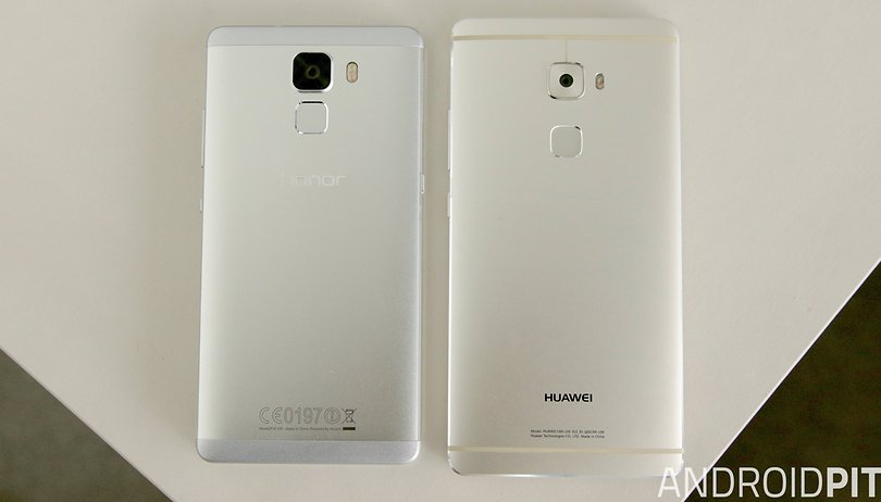 Honor 7 vs Huawei Mate S comparison: sibling rivalry