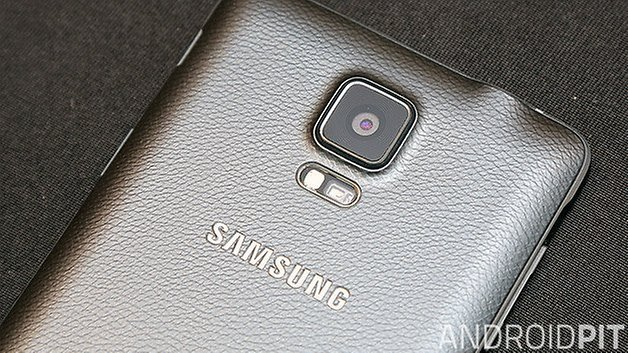 samsung galaxy note 4 back
