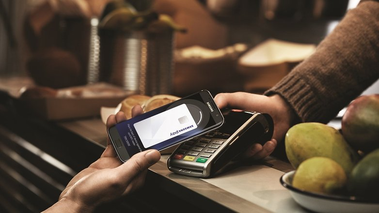 samsung pay samsung galaxy s7 edge