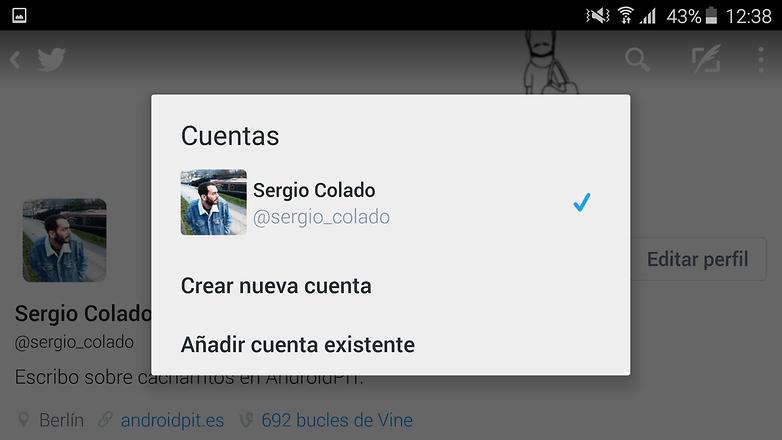 sergio twitter account