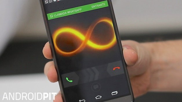 whatsapp calls activate