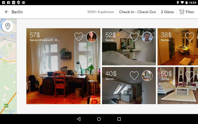 Airbnb screenshoot de
