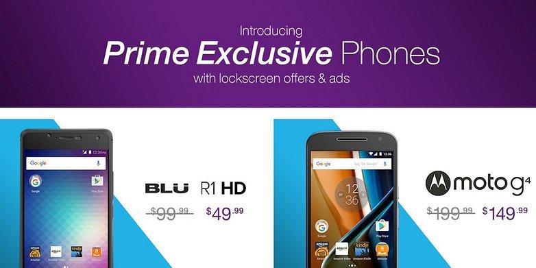 Amazon Prime Excluvise Smartphone