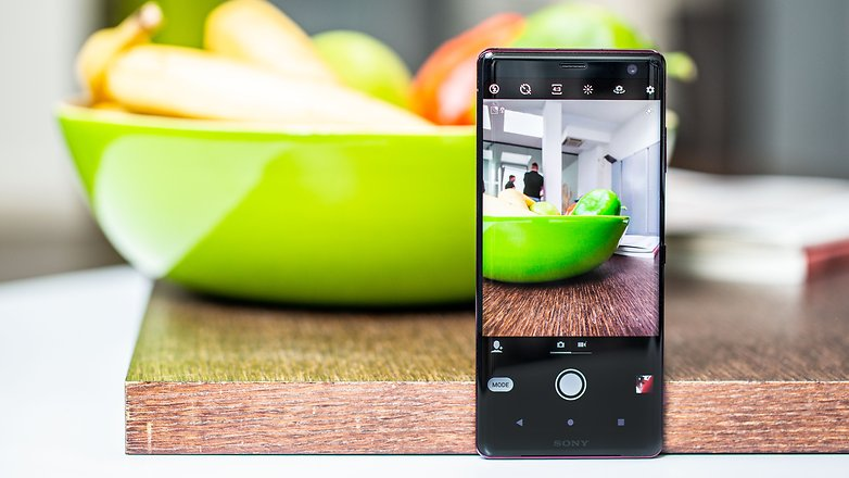 AndroidPIT sony xperia xz3 camera app