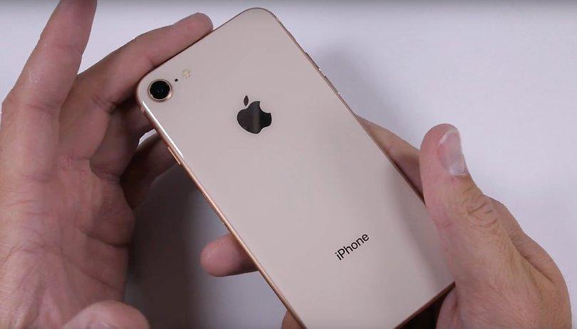 iPhone 8: YouTuber unterzieht das Apple-Phone einem Test der anderen Art