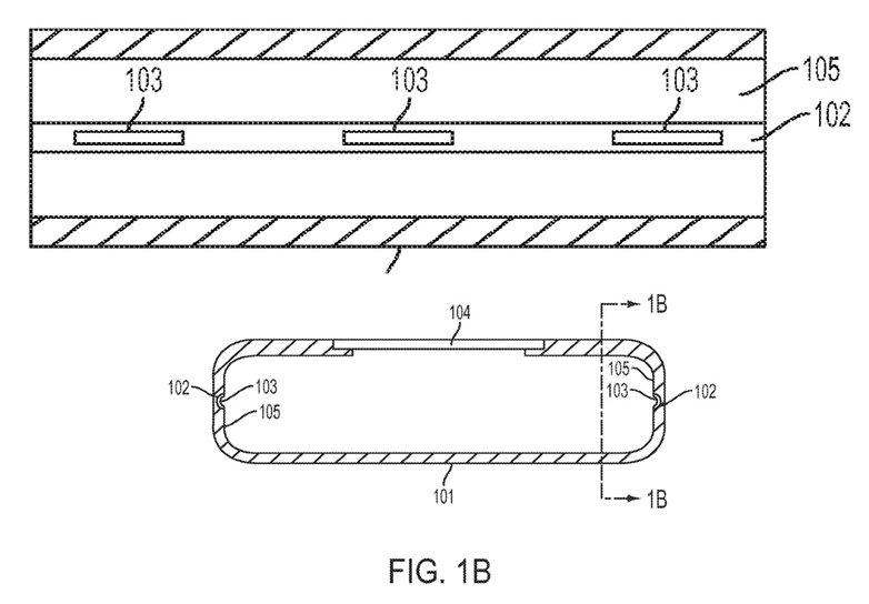 Apple pressure sensitive frame