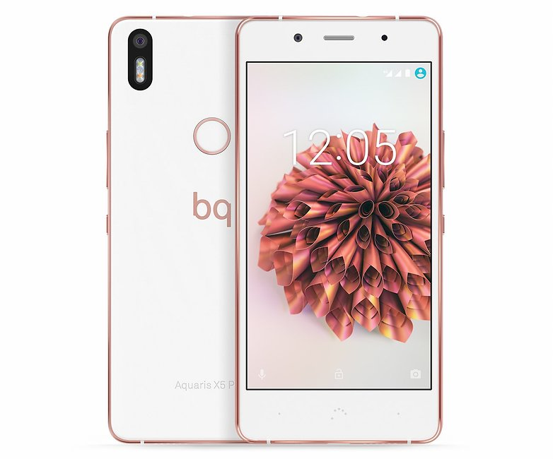 Aquaris X5 Plus compo white