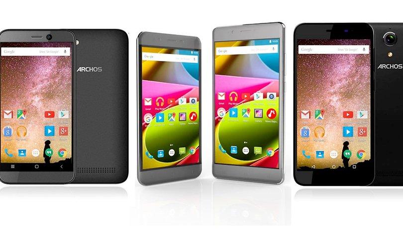 Archos stellt zwei preisgünstige Smartphone-Linien vor