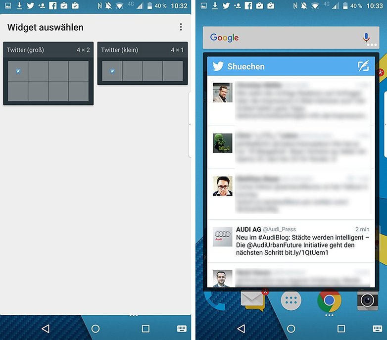 BlackBerry Priv PopUp Widget