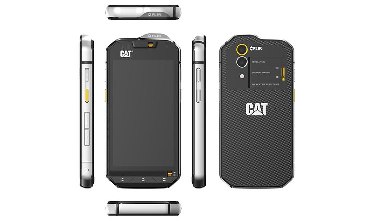CAT S60 all sides