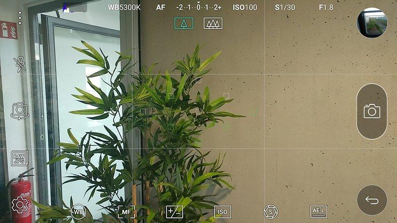 Camera App manuel mode