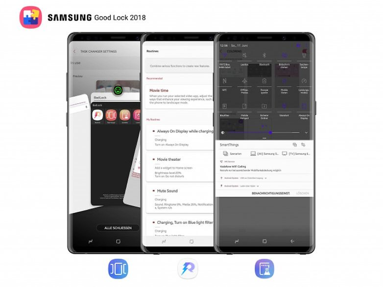 Galaxy Note 9 GoodLock 2018