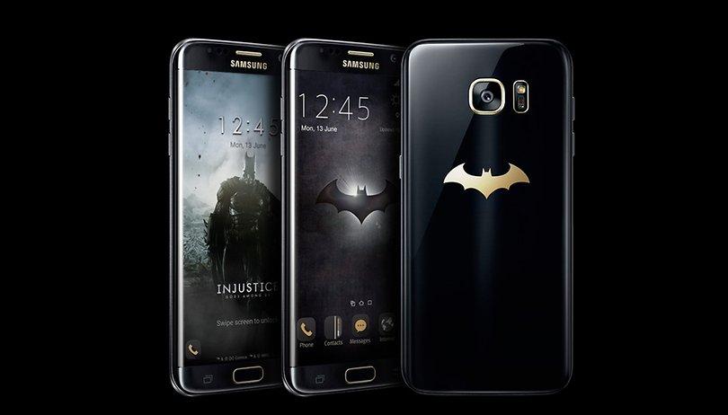 Batman edition del Samsung Galaxy S7 Edge