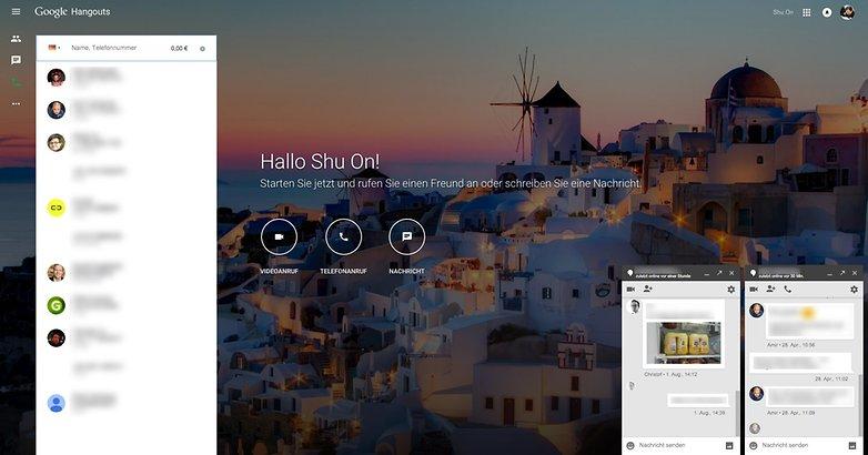 Google Hangouts web 3