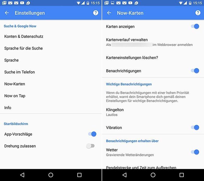 Google Now Karten DE 1neu