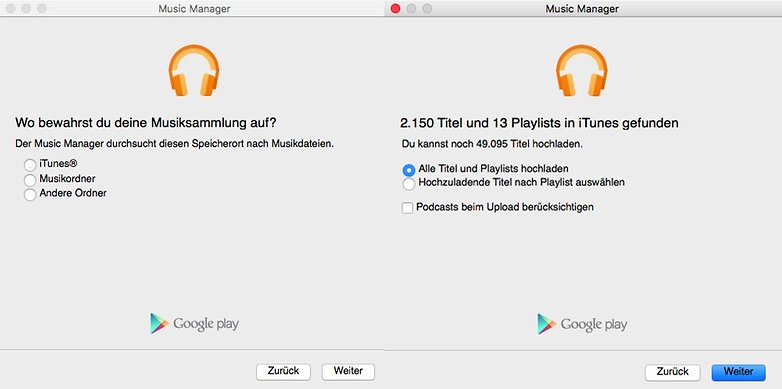 Google Play Music Mac 1