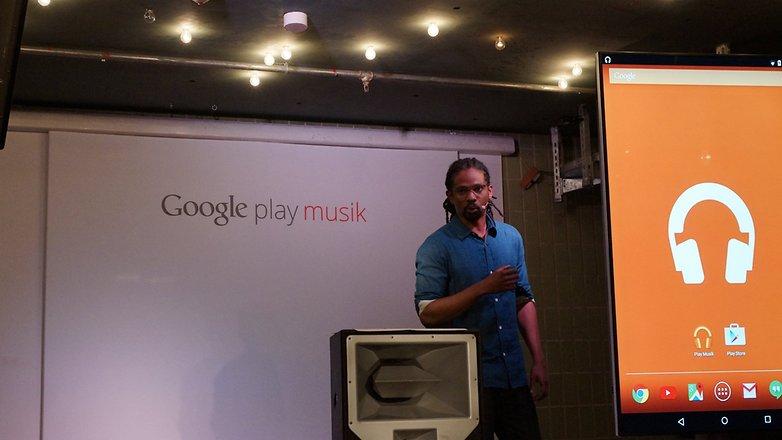 Google Play music playlisten launch