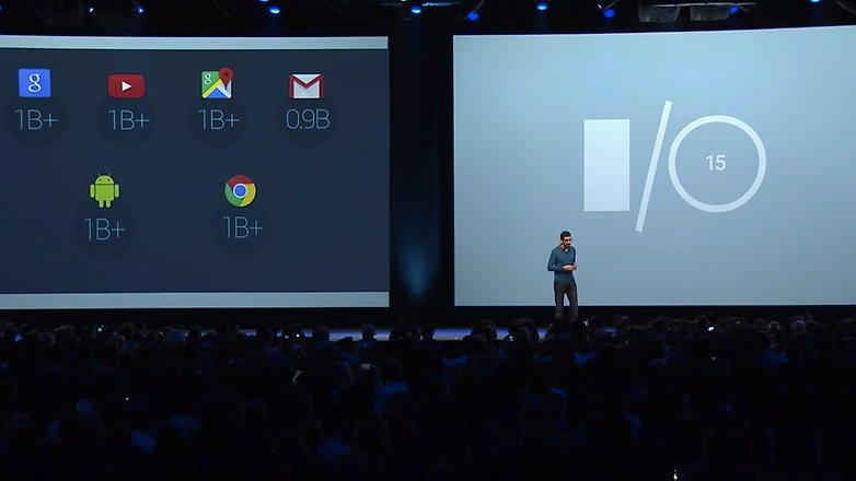 Google io 2015 no google plus