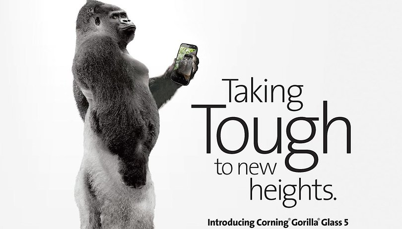 Corning Gorilla Glass 5 angekündigt: Stürze aus 1,6 Metern sind kein Problem