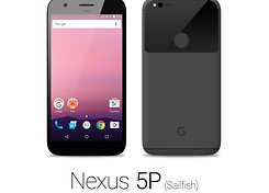 HTC Nexus Sailfish black