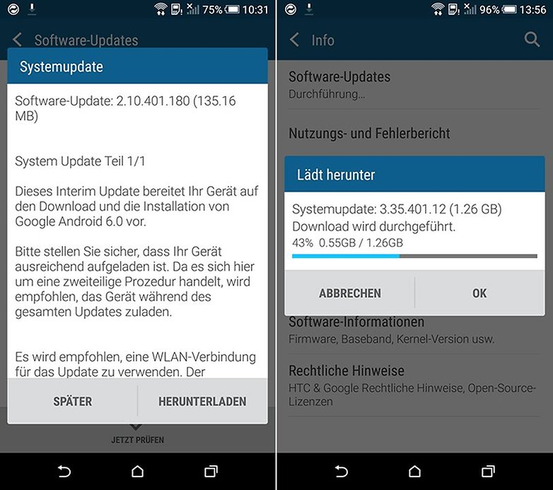 HTC One M9 Update Android 6 0 marshmallow