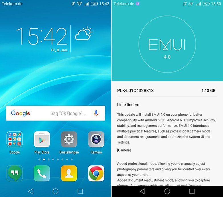 Honor 7 Android 6 0 marshmallow 2