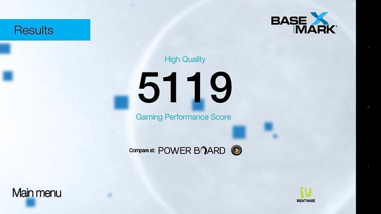 Huawei GX8 Basemark high 1