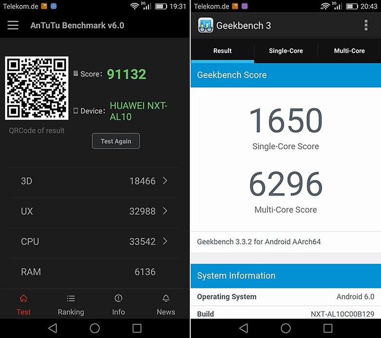 Huawei Mate 8 Benchmark 1