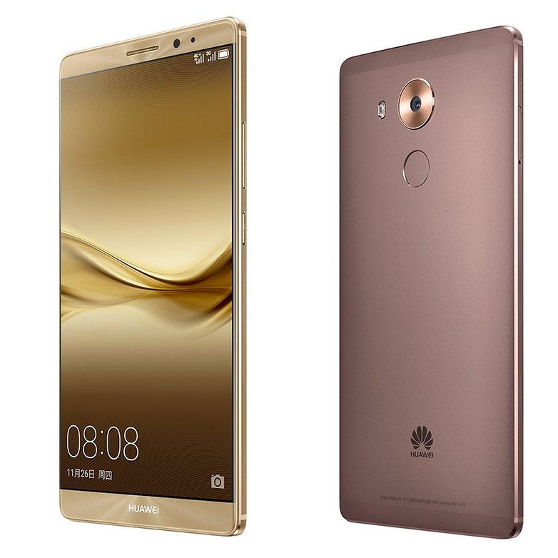 Huawei Mate 8 close