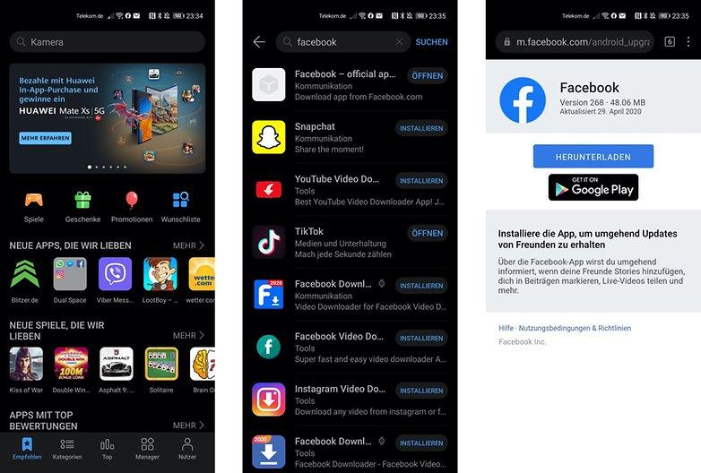 Huawei P40 Pro App Gallery DE