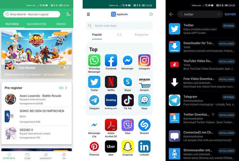Huawei P40 Pro alternative apps