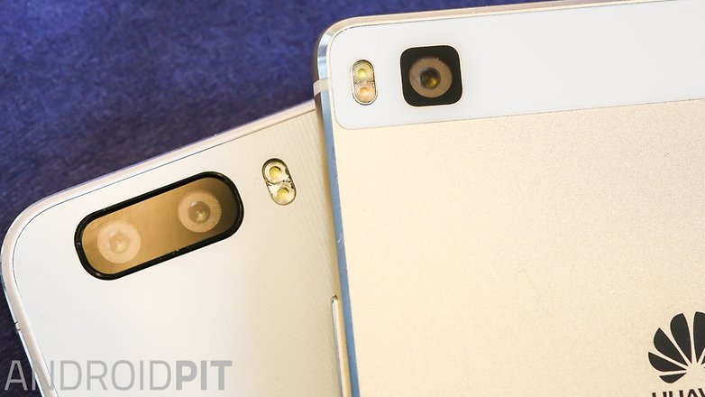 Huawei p 8 vs honor 6 plus comparision rear camera