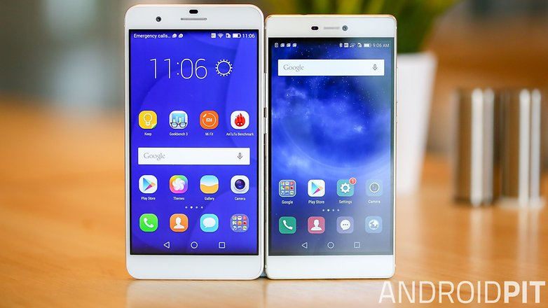 Huawei p 8 vs honor 6 plus comparision teaser hero photo