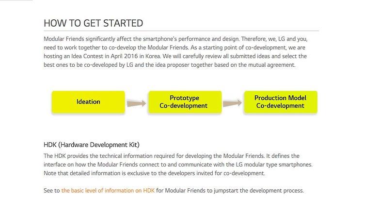 LG G5 modul development