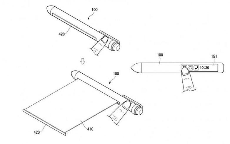 LG Stylus Patent 2018 1