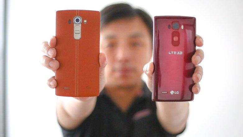 LG G4 VS LG G2 FLEX 1 12