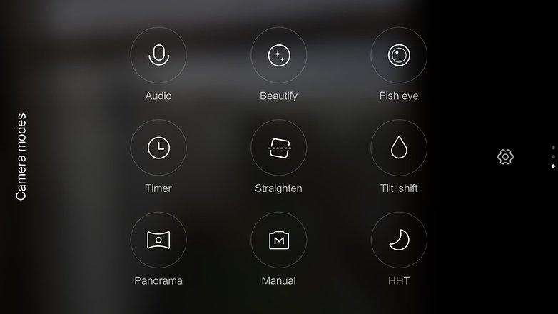MIUI Mi 4s Camera App