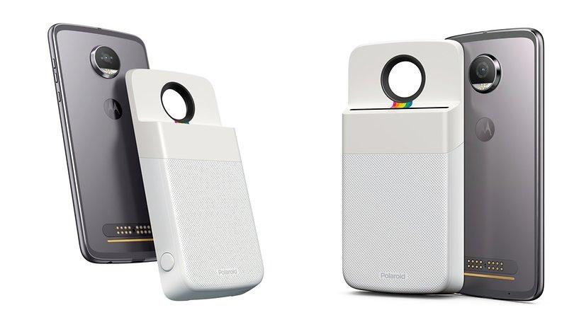 Polaroid-Mod macht Moto-Smartphones zu Sofortbildkameras