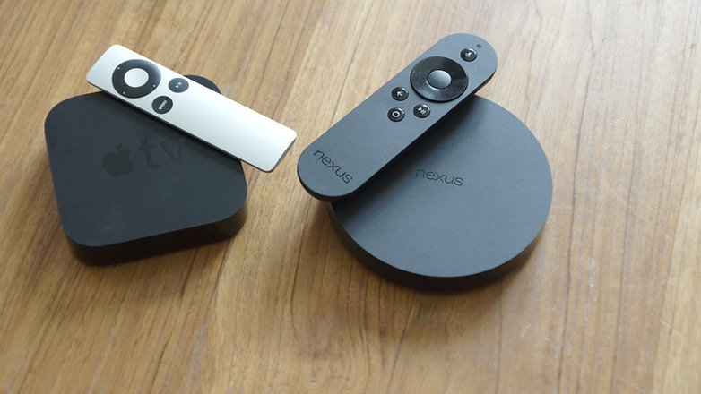 Nexus player vs apple tv hero