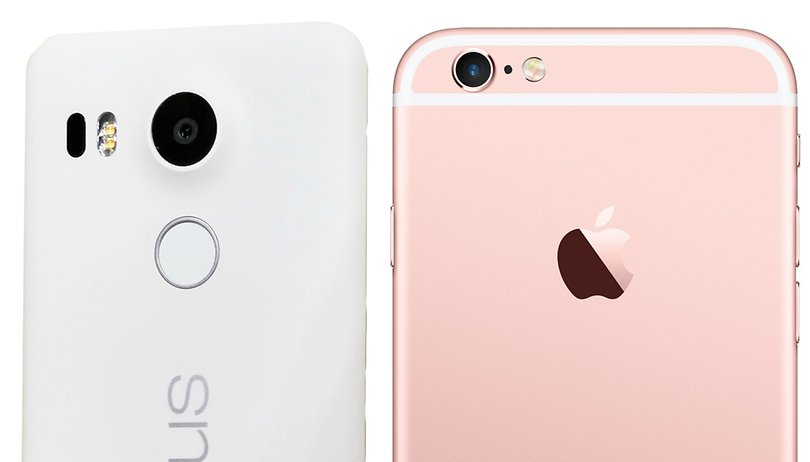 Nexus 5X vs iPhone 6s: Google contra Apple