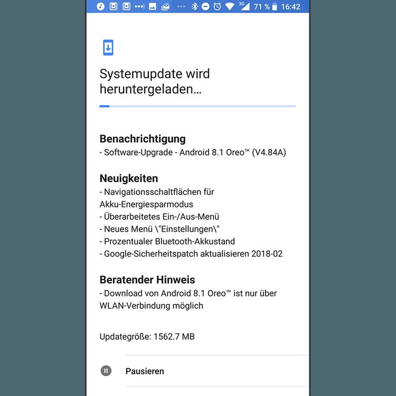 Nokia 8 android 8 1