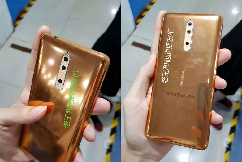 Nokia 8 leak copper gold 2