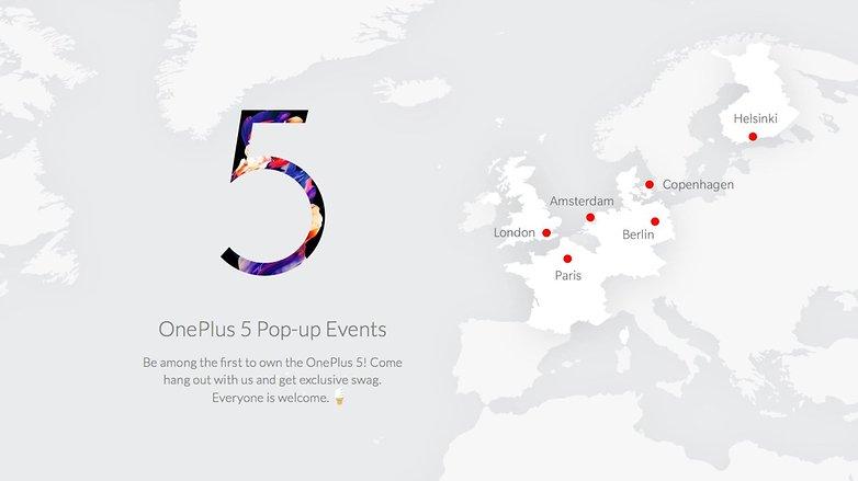 OnePlus 5 PopUp Store EU