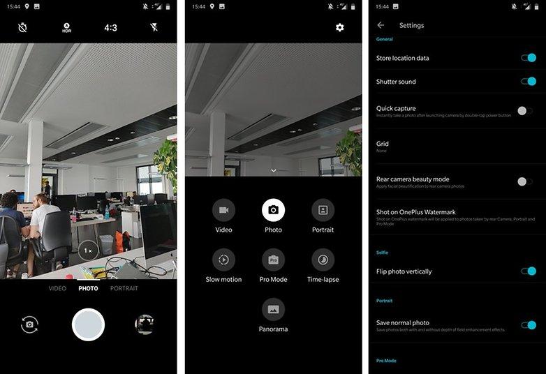 OnePlus 6 Kamera App