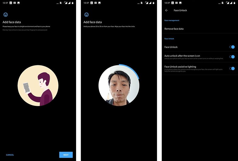OnePlus 6 tipps tricks face unlock