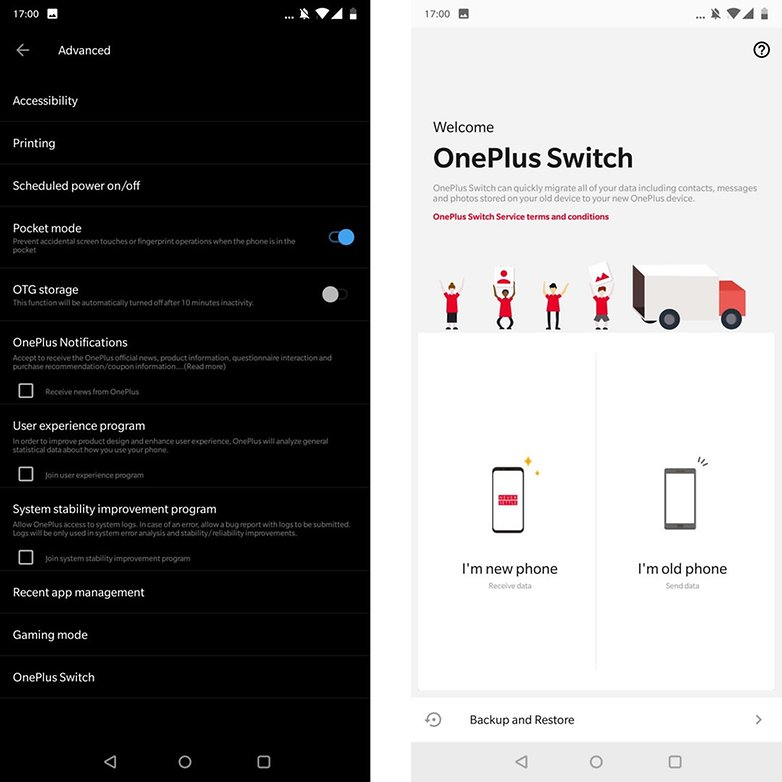 OnePlus 6 tipps tricks switch